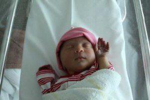 Olivia Grace born 2 December 2011