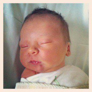 Noah James born 14 November 2012