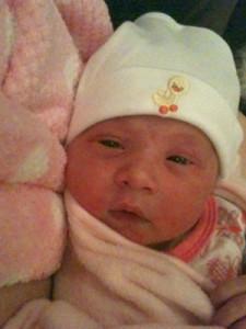 Annabelle Grace born 24 July 2011