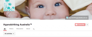 Hypnobirthing Australia YouTube Channel Birth Videos