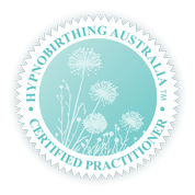 Hypnobirthing Australia™ Certified Practitioner badge