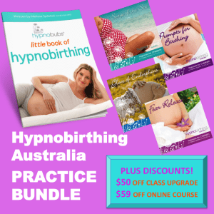 hypnobirthing australia practice bundle home study bundle hypnobirth online book mp3 download