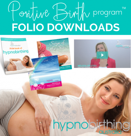 Hypnobirthing Australia™ Positive Birth Program Folio Downloads