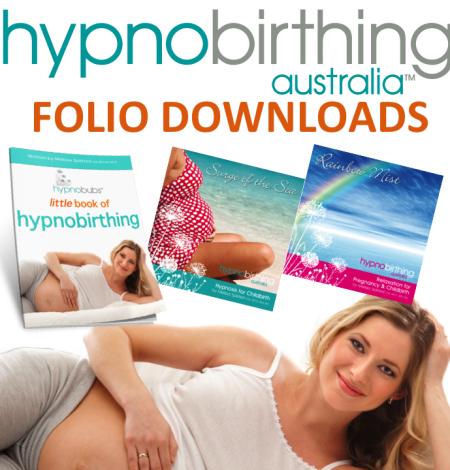hypnobirthing australia folio downloads