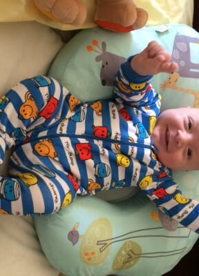 Drew Thomas, born 5 February 2015