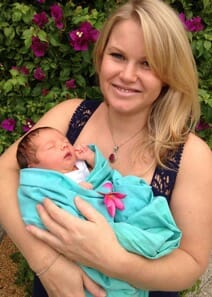 Savanna Rose, born 15 March 2014