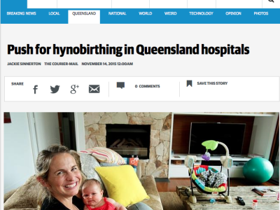 Libby Trickett Cheers for Hypnobirthing Australia!