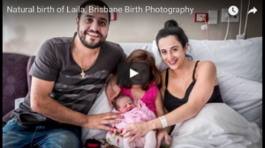 Natural Birth Story & Birth VIDEO of baby Laila
