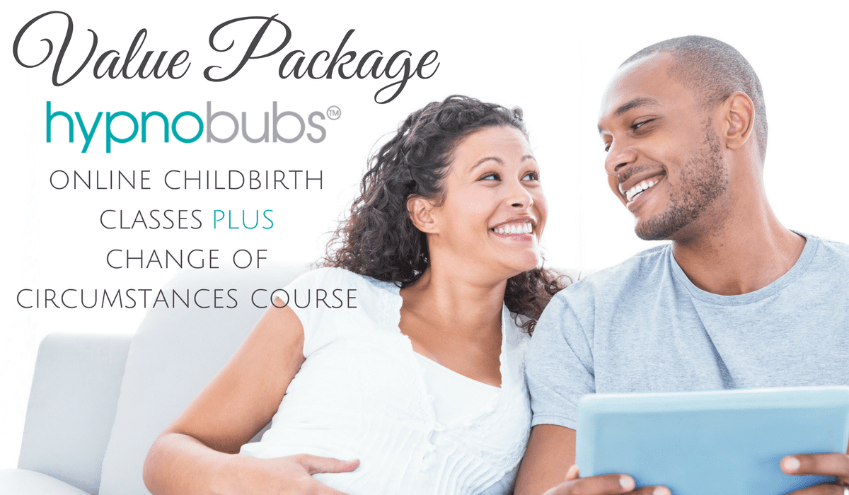 Hypnobubs Hypnobirthing Online Course (Childbirth Education Classes) Value Package