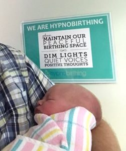 Hypnobirthing was a way for me to involve my partner!